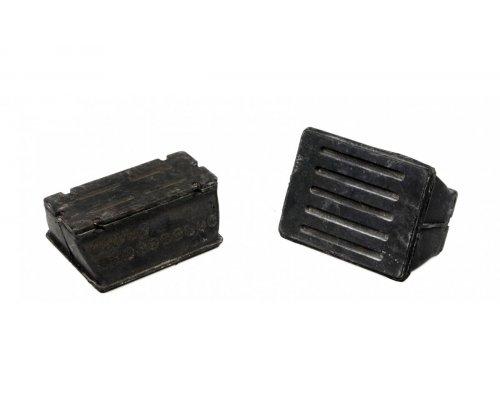 Подушка передней пластиковой рессоры (верх) VW LT 96-06 9013222619 MERCEDES (Оригинал)