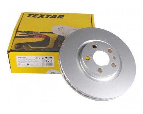 Тормозной диск передний (281x26мм) Fiat Scudo / Citroen Jumpy / Peugeot Expert 1995-2006 92074003 TEXTAR (Германия)