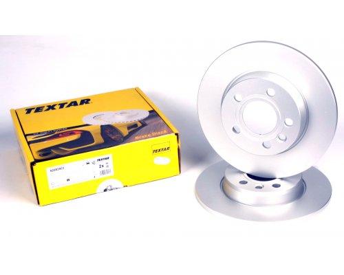 Тормозной диск задний сплошной (280x12mm) VW Transporter T4 90-03 92083903 TEXTAR (Германия)