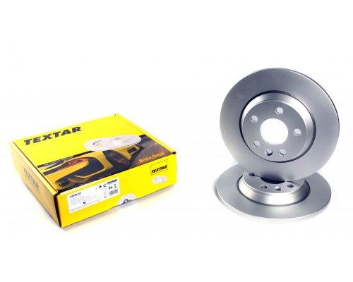 Тормозной диск задний сплошной (294x13.5mm) VW Transporter T4 90-03 92098103 TEXTAR (Германия)