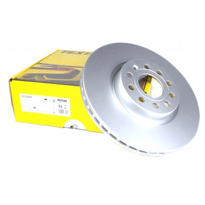 Тормозной диск передний (312х25mm) VW Caddy III 04- 92120505 TEXTAR (Германия)