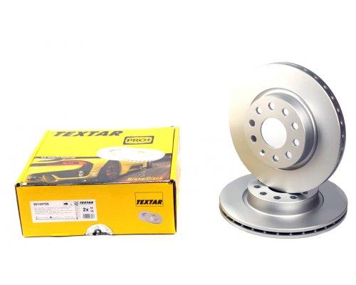 Тормозной диск передний (280х22mm) VW Caddy III 04- 92120705 TEXTAR (Германия)