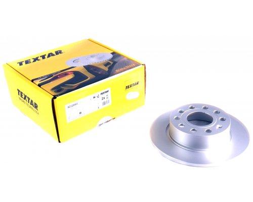 Тормозной диск задний (253х10mm) VW Caddy III 07- 92120903 TEXTAR (Германия)