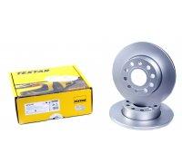 Тормозной диск задний (256х12mm) VW Caddy III 04- 92121103 TEXTAR (Германия)
