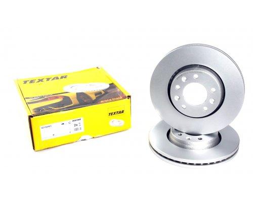 Тормозной диск передний (диаметр 280мм) Fiat Scudo II / Citroen Jumpy II / Peugeot Expert II 2007- 92156903 TEXTAR (Германия)
