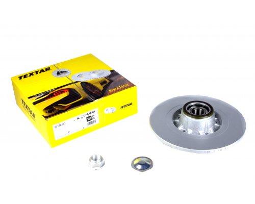 Тормозной диск задний (R15 / R16, с подшипником) Renault Kangoo II / MB Citan 2008- 92196203 TEXTAR (Германия)