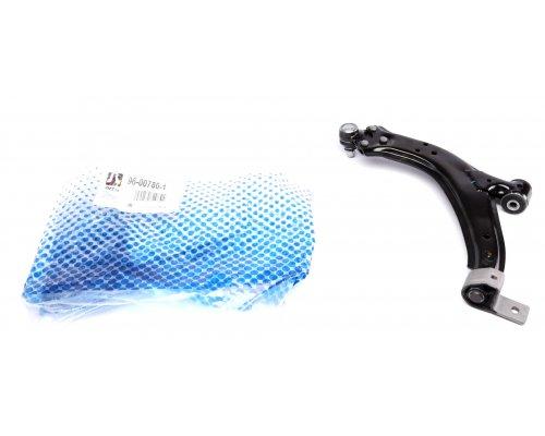 Рычаг подвески передний правый (d=18мм, с шаровой, стандартная ходовая часть) Peugeot Partner / Citroen Berlingo 1996-2011 96-00780-1 RTS (Испания)