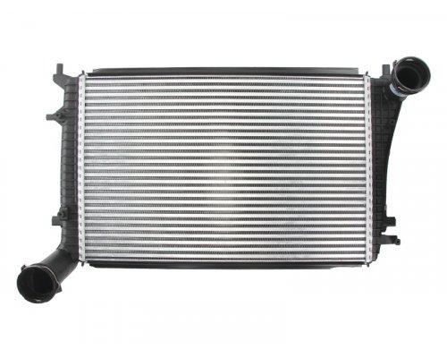 Радиатор интеркулера (двигатель BLS / BSU / BMM) VW Caddy III 1.9TDI / 2.0TDI 103kW 04-10 96619 NISSENS (Дания)