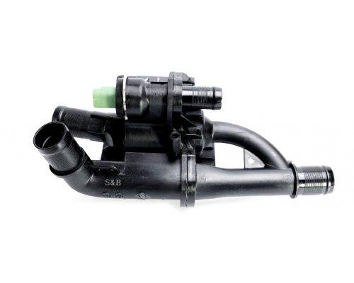 Термостат (с корпусом) Peugeot Partner II / Citroen Berlingo II 1.6HDi 55kW / 66kW 2008- 9870 FARE (Испания)