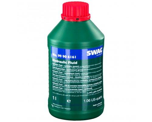 Жидкость ГУР зелёная синтетическая (1л) VW Crafter 2.5TDI 2006- 99906161 SWAG (Германия)