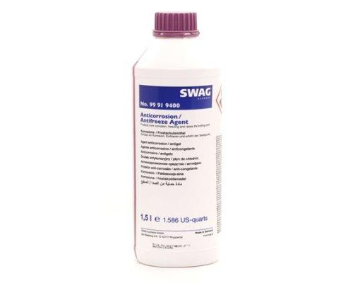 Антифриз концентрат G12+ (фиолетовый, 1.5л) 99919400 SWAG (Германия)