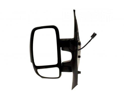 Зеркало левое механическое (2 контакта, сферичное) Renault Master III / Opel Movano B 2010- A9201907 ALKAR (Тайвань)
