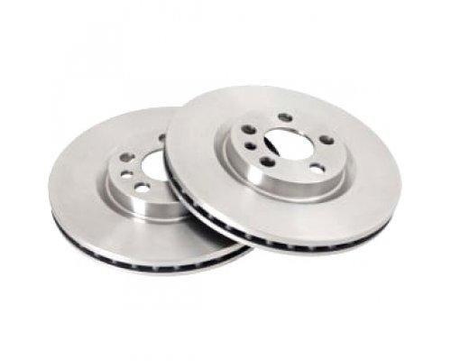 Тормозной диск передний (280.7x26мм) Fiat Scudo / Citroen Jumpy / Peugeot Expert 1995-2006 ADC1522V COMLINE (Великобритания)