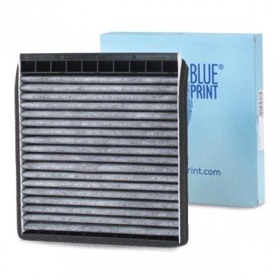 Фильтр салона (угольный, 213х211х20) Peugeot Partner / Citroen Berlingo 1996-2008  ADP152527 BLUE PRINT (Польша)