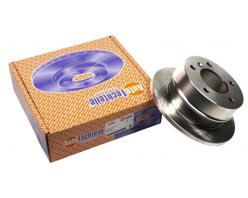 Тормозной диск задний (258х12мм) VW LT 28-35 1996-2006 4354 AUTOTECHTEILE (Германия)