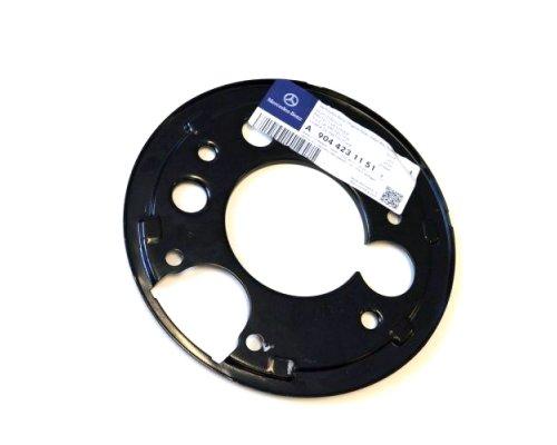 Защита колодок ручника (правая, со сдвоенным колесом) MB Sprinter 901-905 1995-2006 A9044231151 MERCEDES (Оригинал, Германия)