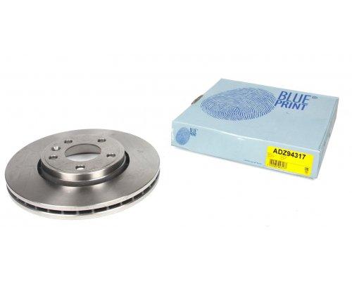 Тормозной диск передний Renault Trafic II / Opel Vivaro A 2001-2014 ADZ94317 BLUE PRINT (Польша)