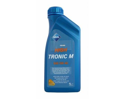 Полусинтетическое моторное масло High Tronic M 5w40 (1L) AR-150B6A ARAL (Германия)