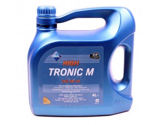 Полусинтетическое моторное масло High Tronic M 5w40 (4L) AR-154FE8 ARAL (Германия)