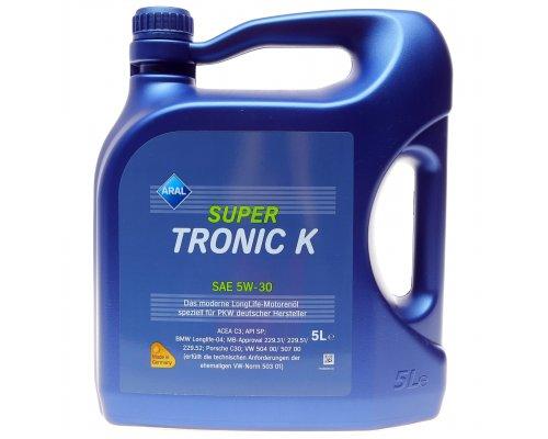 Синтетическое моторное масло Super Tronic K III 5w30 (5L) AR-15DBCF ARAL (Германия)