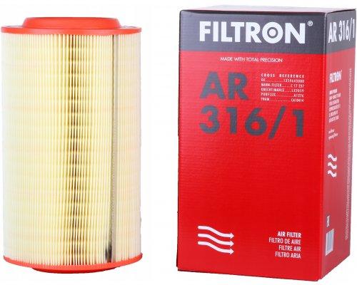 Фильтр воздушный Fiat Ducato II / Citroen Jumper II / Peugeot Boxer II 2006- AR3161/1 FILTRON (Польша)