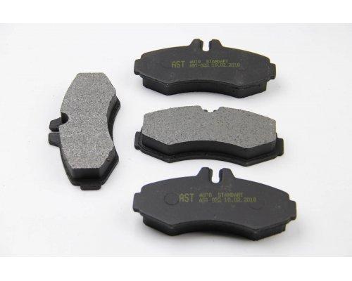 Тормозные колодки передние без датчика (система BOSCH) MB Vito 638 1996-2003 AST022 AST