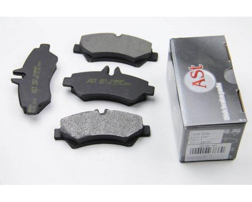 Тормозные колодки задние без датчика MB Sprinter 906 2006- AST190 AST