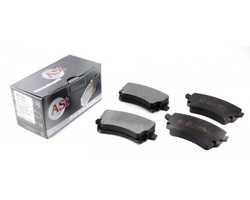 Тормозные колодки задние (LUCAS, без датчика) VW T5 03- AST326 AST