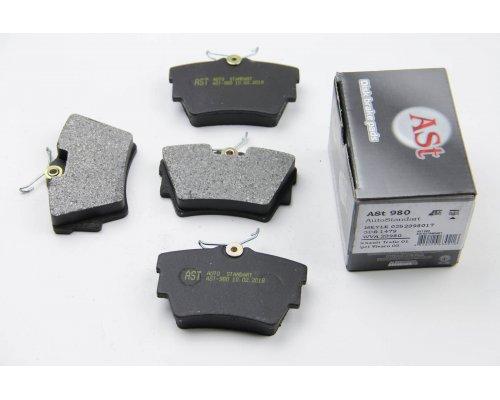 Тормозные колодки задние Renault Trafic II / Opel Vivaro A 2001-2014 AST980 AST