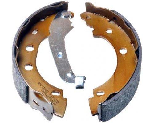Тормозные колодки задние барабанные (203x39мм) Renault Kangoo 97-08 B120159 DENCKERMANN (Польша)