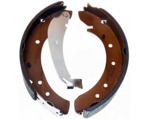 Задние барабанные тормозные колодки Fiat Scudo II / Citroen Jumpy II / Peugeot Expert II 2007- C0P013ABE CHAMPION (США)