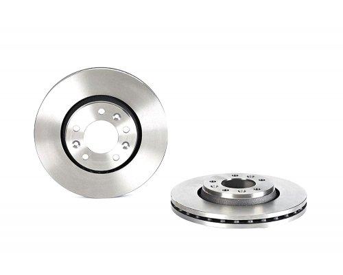 Тормозной диск передний (диаметр 280мм) Fiat Scudo II / Citroen Jumpy II / Peugeot Expert II 2007- BBD4697 BORG & BECK (Великобритания)