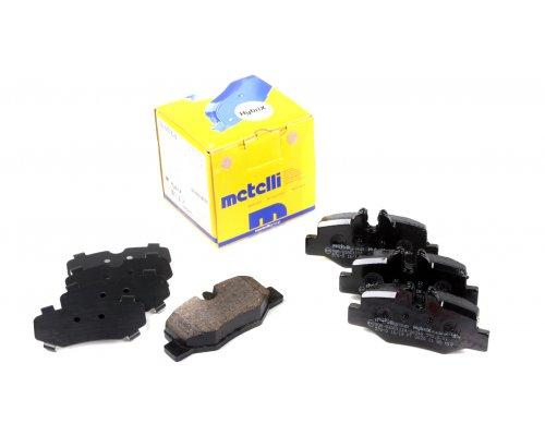 Тормозные колодки задние MB Vito 639 2003- 22-0576-0 METELLI (Италия)