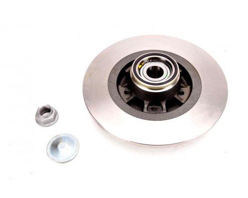 Тормозной диск задний (R15 / R16, с подшипником) Renault Kangoo II / MB Citan 2008- BD-6327 FREMAX (Испания)