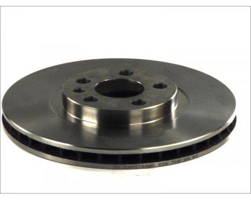 Тормозной диск передний (281x26мм) Fiat Scudo / Citroen Jumpy / Peugeot Expert 1995-2006 BDC4360 QH (Германия)
