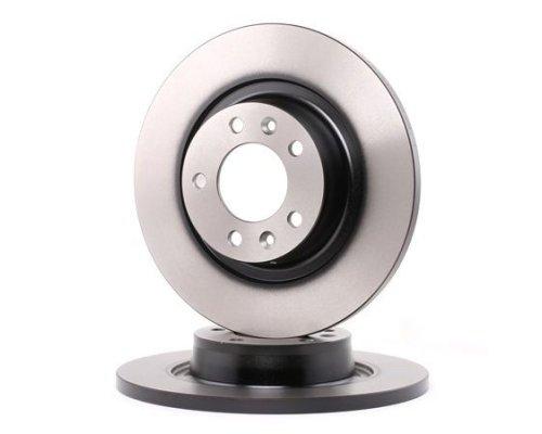Тормозной диск задний Fiat Scudo II / Citroen Jumpy II / Peugeot Expert II 2007- BDC5591 QH (Германия)
