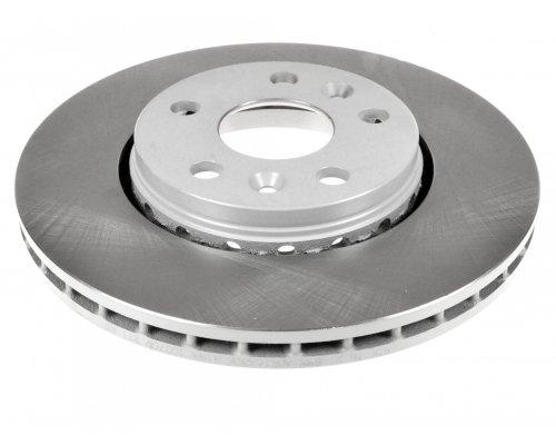 Тормозной диск передний (R15 / R16, D=280mm) Renault Kangoo II / MB Citan 2008- BDC5836 QH (Германия)