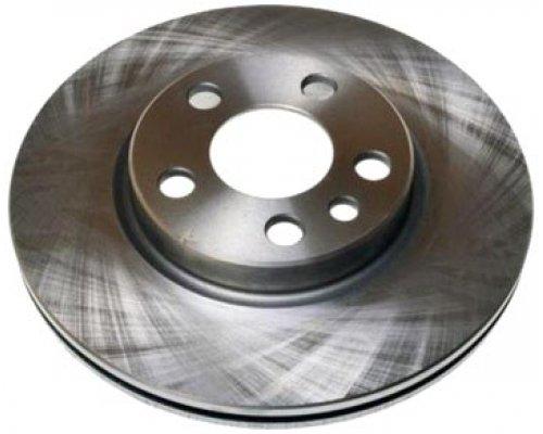 Тормозной диск передний (281x26мм) Fiat Scudo / Citroen Jumpy / Peugeot Expert 1995-2006 BG2844 DELPHI (США)