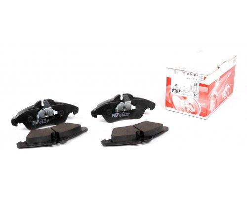 Тормозные колодки передние без датчика (система ATE) MB Vito 638 1996-2003 BL1438C2 FTE (Германия)