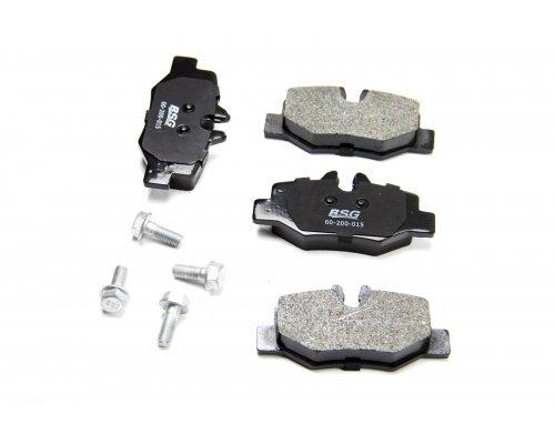 Тормозные колодки задние MB Vito 639 2003- 60-200-015 BSG (Турция)