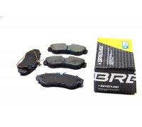 Тормозные колодки передние (с датчиком, R16) Fiat Ducato / Citroen Jumper / Peugeot Boxer 1994-2002 BP2889 BREMSI (Италия)