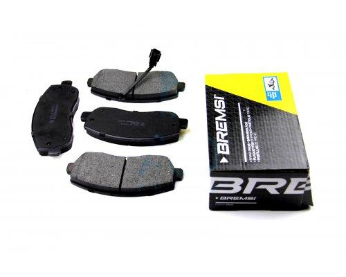 Тормозные колодки передние (с датчиком) Renault Master III / Opel Movano B 2010- BP3439 BREMSI (Италия)