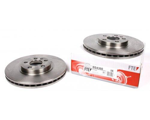 Тормозной диск передний (281x26мм) Fiat Scudo / Citroen Jumpy / Peugeot Expert 1995-2006 BS4360 FTE (Германия)