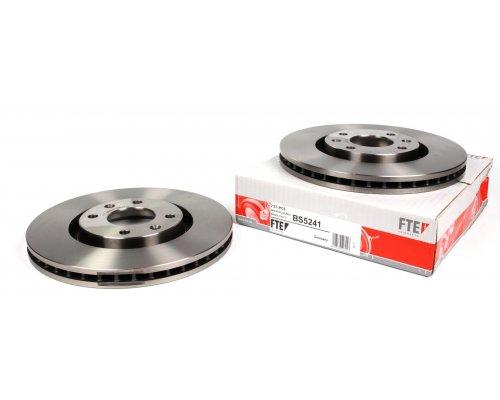 Тормозной диск передний (283x26мм) Peugeot Partner II / Citroen Berlingo II 2008- BS5241 FTE (Германия)