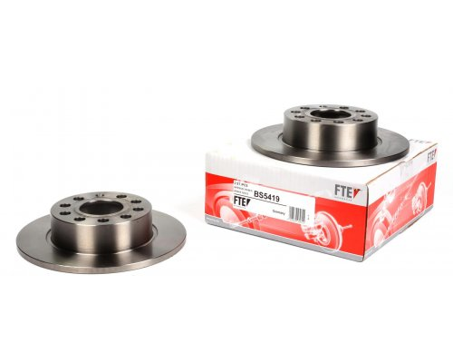 Тормозной диск задний (253х10mm) VW Caddy III 07- BS5419 FTE (Германия)