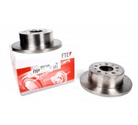 Тормозной диск задний (280x16мм, R15) Fiat Ducato / Citroen Jumper / Peugeot Boxer 2002-2006 BS7166 FTE (Германия)