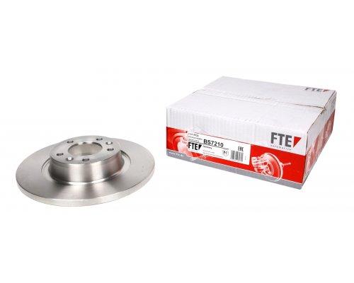 Тормозной диск задний Fiat Scudo II / Citroen Jumpy II / Peugeot Expert II 2007- BS7210 FTE (Германия)