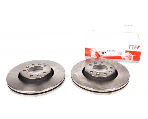 Тормозной диск передний (диаметр 280мм) Fiat Scudo II / Citroen Jumpy II / Peugeot Expert II 2007- BS7212 FTE (Германия)