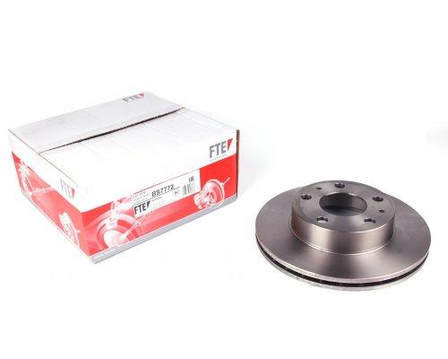 Тормозной диск передний (300x24) Fiat Ducato II / Citroen Jumper II / Peugeot Boxer II 2006- BS7772 FTE (Германия)