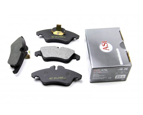 Тормозные колодки передние MB Sprinter 208-316 1995-2006 AST576  AST